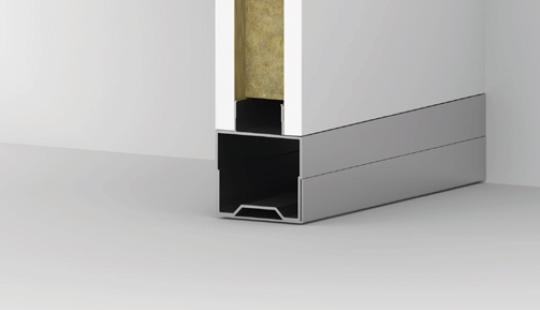 Floor support with adjustable waist